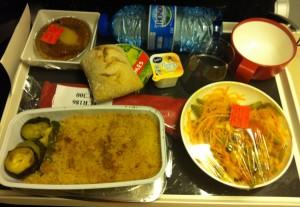 Air France Dinner