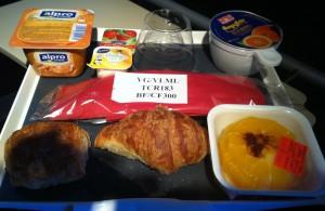 Air France Breakfast  (vegan?) Option